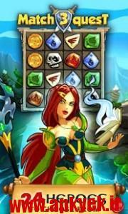 دانلود بازی مسابقه پاندورا Match 3 Quest: Pandora v2.0.9 اندروید