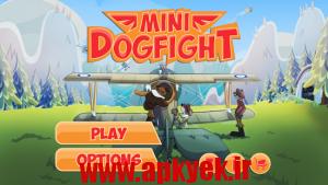 دانلود بازی هواپیما کوچک Mini Dogfight 1.0.34 اندروید مود شده-Dogfight