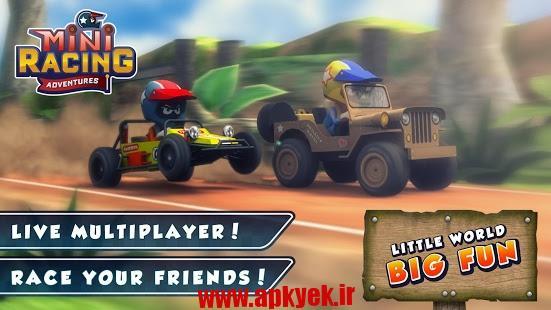 دانلود بازی مسابقات کوچک Mini Racing Adventures 1.2 اندروید
