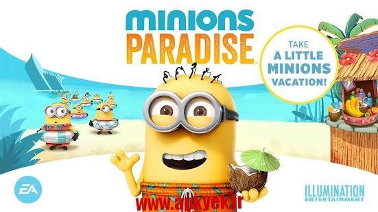 دانلود بازی میمون ها در بهشت Minions Paradise™ ۴٫۶٫۲۱۰۷ اندروید