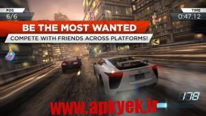 دانلود بازی سرعت بی نهایت Need for Speed™ Most Wanted v1.3.63 اندروید