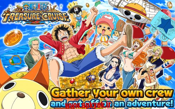 دانلود بازی تکه گنج One Piece Treasure Cruise 2.0.0 اندروید مود شده