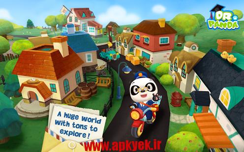 دانلود بازی پاندای پست چی Dr. Panda's Mailman v1.0 اندروید