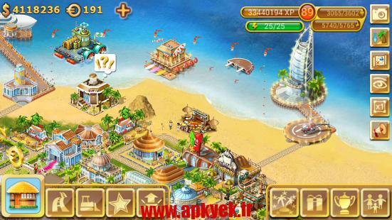 دانلود بازی جزیره زیبا Paradise Island v4.0.5 اندروید