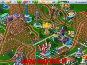 دانلود بازی RollerCoaster Tycoon® 4 Mobile v1.4.0 اندروید مود شده پول بی نهایت