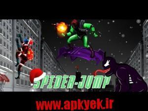 دانلود بازی پرش مرد عنکبوتی Spider Jump - Goblin appears v1.7 اندروید مود شده