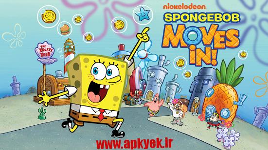 دانلود بازی باب اسفنجی SpongeBob Moves In 4.32.01 اندروید مود شده