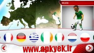 دانلود بازی فوتبال هجومی Striker Soccer Euro 2012 1.11.0 اندروید