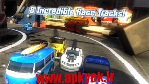 دانلود بازی رقابت ماشین سواری Table Top Racing v1.0.38 اندروید