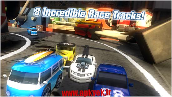 دانلود بازی رقابت ماشین سواری Table Top Racing v1.0.38 اندروید مود شده