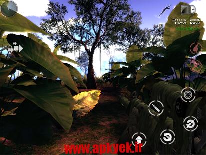 دانلود بازی گرافیکی شکارچی دایناسور The Lost Lands:Dinosaur Hunter v1.0 اندروید
