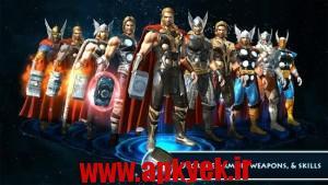 دانلود بازی گرافیکی ثور Thor: TDW - The Official Game v1.2.0n اندروید