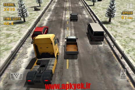 دانلود بازی ترافیک پر پیچ و خم Traffic Racer 2.2 اندروید