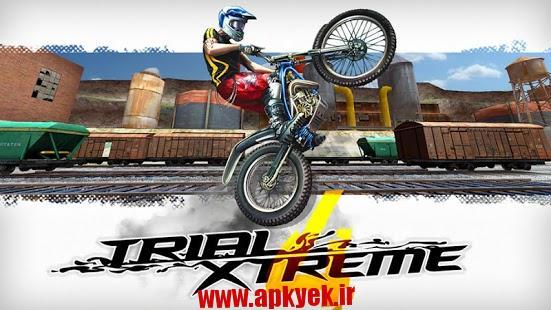 دانلود بازی دوچرخه سواری Trial Xtreme 4 1.6.1 اندروید مود شده پول بی نهایت