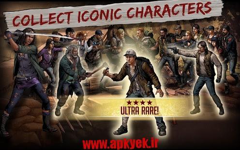 دانلود بازی راه رفتن مردها Walking Dead: Road to Survival 1.8.4.21953 اندروید