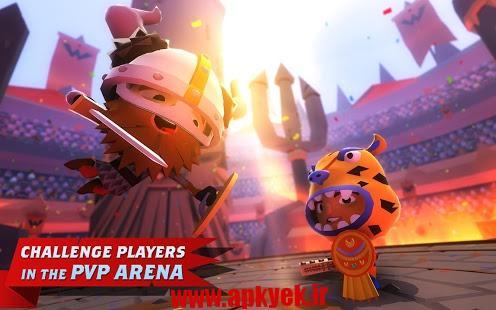 دانلود بازی رزمندگان جهانی World of Warriors 1.11.1 اندروید