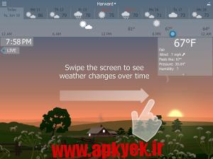 دانلود نرمافزار هواشناسی YoWindow Weather 1.6.16 اندروید