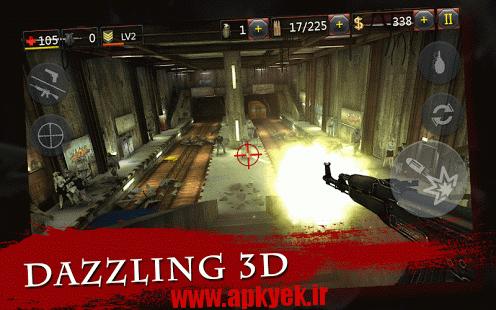 دانلود بازی نابودی زامبی Zombie Crush 2 v0.5 اندروید مود شده و پول بی نهایت