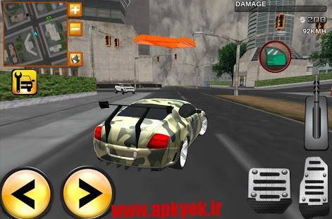 دانلود بازی ماشین سواری Army Extreme Car Driving 3D 3.11 اندروید مود شده