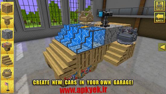 دانلود بازی قوانین ماشین Blocky Cars – My Car My Rules 3.2.2 اندروید مود شده