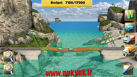 دانلود بازی ساخت پل Bridge Constructor v3.4 اندروید