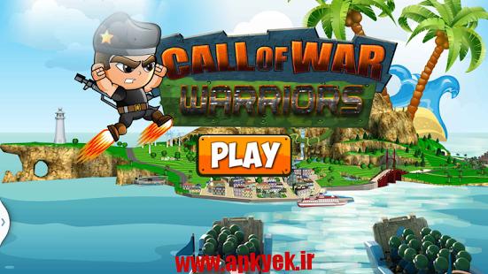 دانلود بازی ندای جنگ Call of War : Warriors Duty v1.0 اندروید مود شده