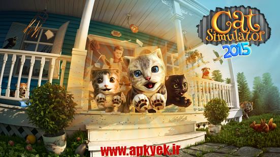 دانلود بازی شبیه ساز گربه Cat Simulator 1.3 اندروید مود شده