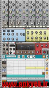 دانلود نرمافزار ساخت حرفه ای موزیک Caustic 3 v3.1.2 اندروید همراه با key