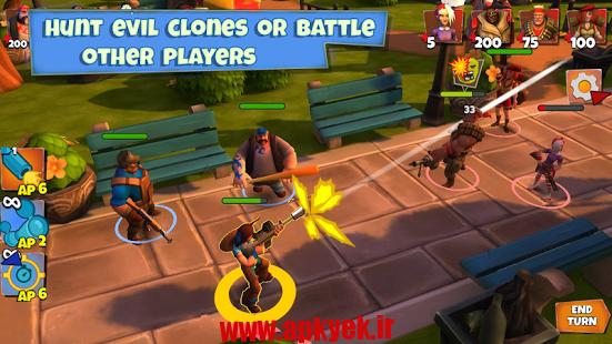 دانلود بازی جنگل های سلیبی Clones Crusade v1.15.0512.2092 اندروید