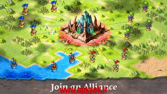 دانلود بازی جنگ استراتژیک Emporea – Fantasy War Strategy v0.2.090 اندروید