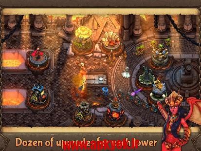 دانلود بازی مدافعان جنگ Evil Defenders 1.0.15 اندروید مود شده