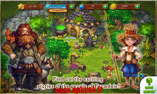 دانلود بازی مزرعه Farmdale 1.6.29 اندروید مود شده