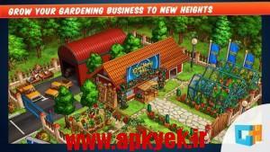 دانلود بازی باغبانی Gardens Inc. 2: Road to Fame v1.0.3 اندروید
