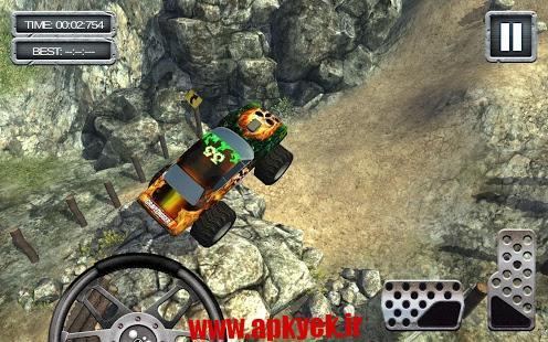 دانلود بازی ماشین سواری GraveDigger 4×4 Hill Climb 3D 1.24.0 اندروید