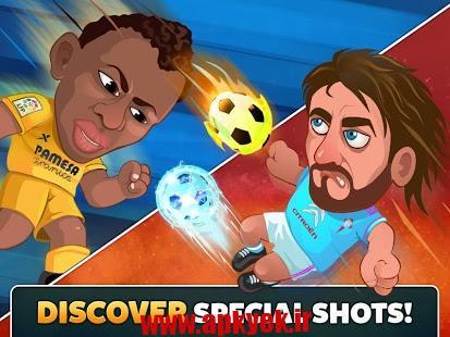 دانلود بازی فوتبال لالیگا Head Soccer La Liga v1.3.1.1 اندروید مود شده