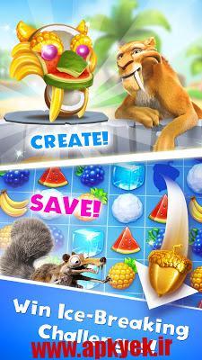 دانلود بازی عصر یخی Ice Age Avalanche 3.3.2b اندروید