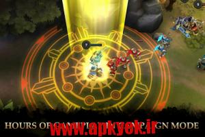 دانلود بازی افسانه قهرمانان Legendary Heroes v1.9.8 اندروید مود شده
