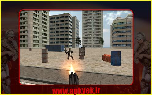دانلود بازی اکشن Lone Striker 3D v1.2 اندروید