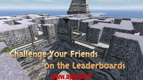 دانلود بازی پیچ و خم Maze Mania 3D Labyrinth Escape v1.2 اندروید