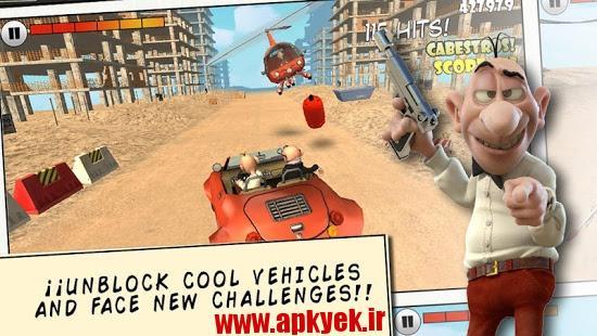 دانلود بازی راننده دیوانه Mort & Phil: Frenzy Drive v1.0.3 اندروید