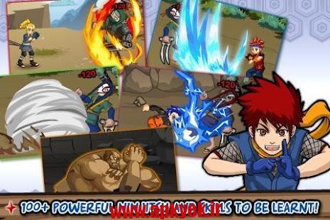 دانلود بازی حماسه نینجاها Ninja Saga 0.9.65 اندروید مود شده