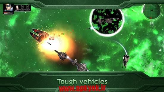 دانلود بازی حمله فضایی Plancon: Space Conflict v1.0.0 اندروید