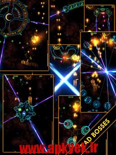 دانلود بازی آسمان رنگی Plasma Sky – rad space shooter v5.0.5 اندروید مود شده