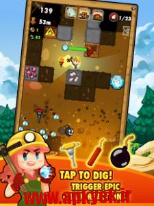 دانلود بازی معدن پول Pocket Mine 2 1.9.0.7 اندروید