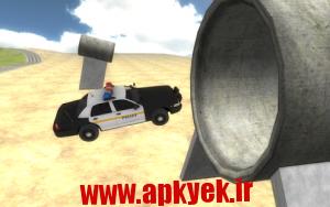دانلود بازی رانندگی با ماشین پلیس Police Car Driving 3D v1.05 اندروید