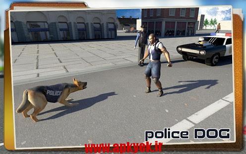 دانلود بازی جنایت در شهر Police Dog Chase: Crime City v1.1 اندروید