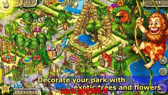 دانلود بازی ما قبل تاریخ Prehistoric Park Builder v1.3 اندروید