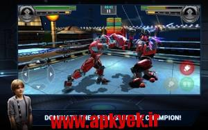 دانلود بازی قهرمانان فولادی Real Steel Champions v1.0.51 اندروید