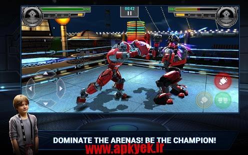 دانلود بازی قهرمانان فولادی Real Steel Champions 1.0.76 اندروید
