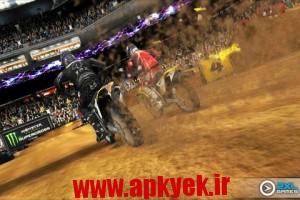 دانلود بازی موتور کراس Ricky Carmichael's Motocross v1.1.6 اندروید